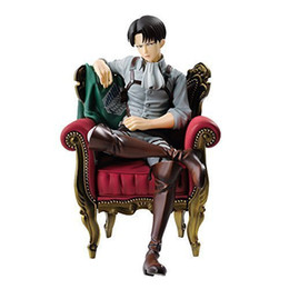 Chinese  New Hot 15 Centimeters Tan Levy Liberaille Rival Ackerman Sofa Action Figure Toy Collection Human Form Christmas Gift Box Y19062901 manufacturers