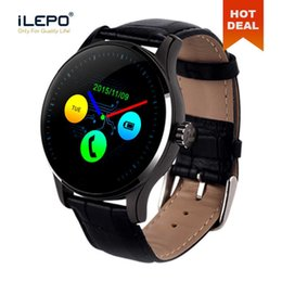 smart watch wholesale Australia - K88H Smart Watch 1.22 Inch IPS Round Screen Support Sport Heart Rate Monitor Bluetooth Smartwatches For Apple Huawei IOS Android