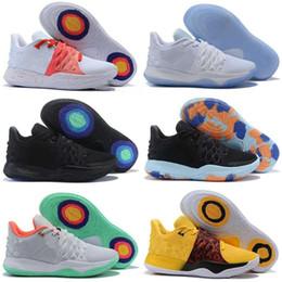 10e5b5d17bf Kyrie Shoe Size Australia - 2019 Kyrie Kids Basketball Shoes 4s Mens Irving  4 Classic Wolf