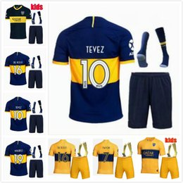 $enCountryForm.capitalKeyWord Australia - 19 20 Boca Juniors Home Soccer jerseys Uniforms kids kit Thai Quality Soccer Jersey Boca Away Football Blue White Pavon GAGO TEVEZ
