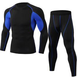 $enCountryForm.capitalKeyWord UK - New summer men's sportswear set quick-drying breathable gym exercise jogging suit yoga fitness clothing long-sleeved o-neck