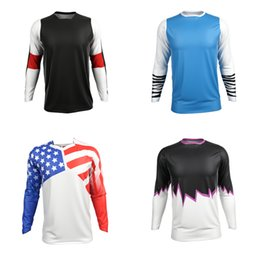 Top mTb brands online shopping - 2019 New Brand Motocross Jersey Downhil Mountain Bike DH Shirt MX Motorcycle Clothing Ropa For Men Quick Dry MTB Tshirt
