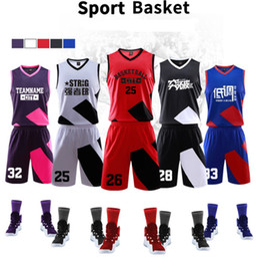 127aba5c5 Wholesale Customized Jersey Australia - Cool basketball Uniforms custom  male adult ball suit basketball training match
