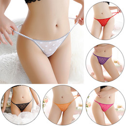 Panties Orange Australia - High Quality Hot Sale 1PC Lingerie G-string Lady's Sheer Thongs Lace Comfortable Sexy Underwear Briefs Women Popular Panties