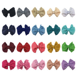 $enCountryForm.capitalKeyWord Australia - Bubble Hair bow For Baby Headbands Bow-knot Hair Accessories DIY Photography props Children head Bow