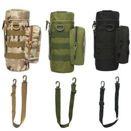 $enCountryForm.capitalKeyWord Australia - Outdoor MOLLE Tactical Zip Water Bottle Kettle Shoulder Sling Strap Holder Bag Pouch for Travel Camping