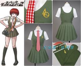 Anime costumes for women online shopping - Anime Super Dangan Ronpa Danganronpa Mahiru Koizumi Cosplay Costume School Uniform White Shirt Skirt For WomenMX190921