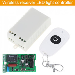 Remote Light Switch Receiver Australia - AC220V RF Wireless Mini Switch Relay Receiver Remote Controller for Light Switch and Electrical Equipment Remote Control