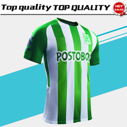 2019 Atletico Nacional Medellin Soccer Jerseys 18 19 Medellin Home Green Football  Shirts 2018 Colombian Primera A Soccer Shirt On Sales b4dba060a