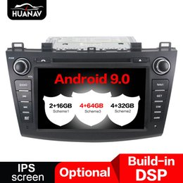 mazda car dvd gps navigation UK - DSP Android 9.0 Car DVD Player for Mazda 3 2009-2012 GPS Navigation auto radio Stereo multimedia screen head unit recorder
