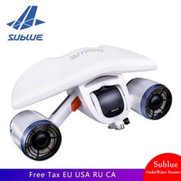 Wholesale Sublue Whiteshark Mix Underwater thruster Scooter Diving Swiming Snorkeling in the Water hand-held Diving equipment