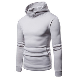 $enCountryForm.capitalKeyWord Australia - Mens Solid Hoodies Spring Autumn Male Casual Sweatshirts Tops Long Sleeved Clothes for Hommes