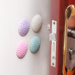 3Pcs Lot Protection Baby Safety Shock Absorbers Security Card Rubber Door Stoppers Wall Protectors Door Handle Bumpers from color security camera night vision suppliers