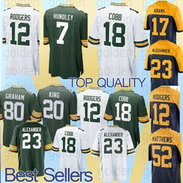 JERSEY Green Bays Packer 12 Aaron Rodgers Green Bays Packers Jersey 80  Jimmy Graham 12 Aaron Rodgers 23 Jaire Alexander Game Rugby jersey 63f35070c