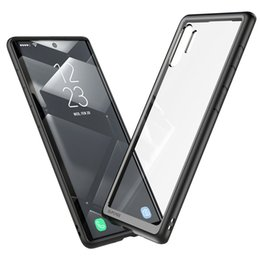 bumper note 2019 - For Samsung Galaxy Note 10 Case (2019 Release) SUPCASE UB Style Premium Hybrid TPU Bumper Protective Clear PC Back Case