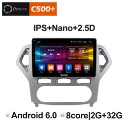 "radio gps ford mondeo NZ - 10.1"" 2.5D Nano IPS Screen Android Octa Core 4G LTE Car Media Player With GPS RDS Radio Bluetooth For Ford Mondeo 2007-2010 MT AT #5255"