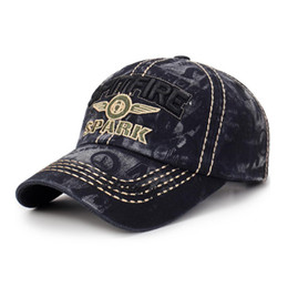 baseball caps manufacturers Australia - Manufacturer Production New Style Korean Version of the Influx of Fashion Washed Denim Baseball Cap Fashion Four Seasons College