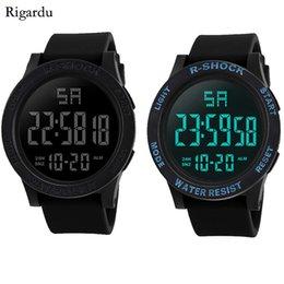 Men Digital Wrist Watches Australia - Sport Man Watch Fashion Waterproof Men Watch LED Digital Stopwatch Date Rubber Sport Male Wrist #25