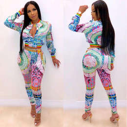 $enCountryForm.capitalKeyWord NZ - New arrival Sports Suit Women Fashion Letter Printing short Zipper Jacket trousers 2 Piece Set Sportswear sexy Women Tracksuits