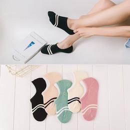 Ladies invisibLe socks online shopping - comfortable cotton girl women s socks ankle low female invisible color girl boy hosiery ladies boat sock slipper pair WS97