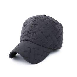 099aba4491f New Snapback Adjustable Baseball Caps Winter Warm Earmuffs Hats Men Cotton Baseball  Cap Outdoor Fashion Embroidery Hat