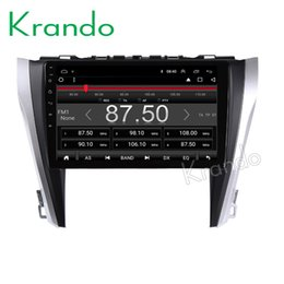 """Camry Android Dvd Gps Australia - Krando Android 8.1 10.1"""" IPS Full touch car dvd multimedia player for TOYOTA CAMRY 2015-2016 gps navigation system video player"""
