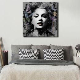 $enCountryForm.capitalKeyWord Australia - Marilyn Monroe Portrait Canvas Posters Prints Wall Art Painting Decorative Picture Modern Bedroom Home Decoration