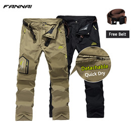 $enCountryForm.capitalKeyWord Australia - Quick Dry Hiking Pant Outdoor Men Winter Breathable Camping Trousers Removable Shorts Trekking Hunting Fishing Pants Hike C19041201