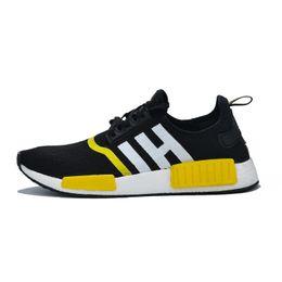 Golf Cores UK - 2020 NMD Human Race Mens Running Shoes Pharrell Williams Sample Yellow Core Black Sport Designer Shoes Women Sneakers 36-47