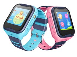 Water Resistant Gps Australia - The new children's smartwatch waterproof touch intelligent positioning 4G video calls GPS intelligent positioning Drop shock