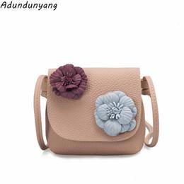 Children Mini Designer Handbags UK - Cheap new Designers Mini Cute Bag  Children Kids flower Handbag a13cf0a872455