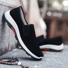 men cloth sneakers 2020 - Cloth outdoor sport Shoes Men Lightweight running shoes men sneakers cheap men cloth sneakers
