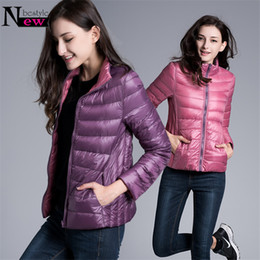 $enCountryForm.capitalKeyWord Australia - Newbestyle Winter Womens Casual Two Side Colors White Duck Down Jacket Women Warm Winter Coats Parkas Lightweight Down Jackets