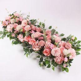$enCountryForm.capitalKeyWord UK - 50 100cm Custom Wedding Flower Wall Arrangement Supplies Silk Peony Artificial Flower Row Decor Romantic Diyiron Arch Backdrop T8190626