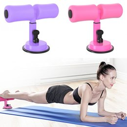 sit ups equipment 2019 - Self Suction Sit Up Bars Abdominal Core Workout Strength Training Sit Up Assist Bar Stand Fitness Equipment for Home Gym