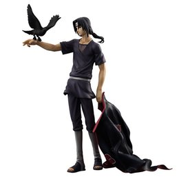 Chinese  [TOP] Original box 23cm Anime Naruto Shippuden Uchiha Itachi PVC Action Figure Collectible Model Toy Doll kids child gift manufacturers