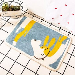 Doormat cartoon online shopping - Soft Anti Slip Cute Water Absorption Outdoor Indoor Area Rugs Nursery room Living Room Bathroom Decor Front Doormats inch inch