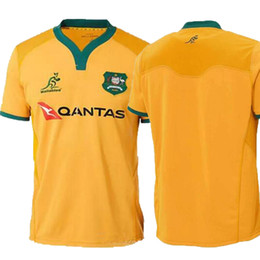 AAA+ 2018 AUSTRALIA WALLABIES JERSEY 18 19 rugby Jerseys NRL National Rugby  League shirt Australian wallabies shirts s-3xl 3a2865e19