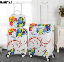 """Pc 13 Australia - TRAVEL TALE 13""""16""""20""""24 inch spinner PC cabine rolling luggage set trolley travel suitcase set"""