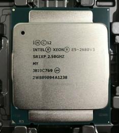 Intel E5-2680 V3 Processor SR1XP 2.5Ghz 12 Core 30MB Socket LGA 2011-3 Xeon CPU E5 2680 V3 on Sale