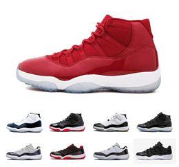 sale retailer 6e3fd 00ef9 Nuevo 11 UNC 11s Noche de graduación Concord Space Jam Legend Gamma azul  medianoche Azul marino Retro Zapatos de baloncesto para hombre XI Bred  Zapatillas ...