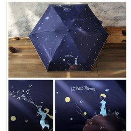 $enCountryForm.capitalKeyWord Australia - fairy tale Gift for girlfriend Cartoon Little Prince Umbrella Rain Women Folding Umbrellas Female Sunny Lovely Mini Pocket Umbrella