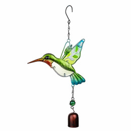 $enCountryForm.capitalKeyWord UK - H&d Handmade Bird Chime For Wall Window Door Wind Bell Hanging Ornaments Vintage Home Campanula Decoration Crafts C19041501