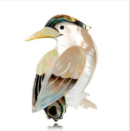 $enCountryForm.capitalKeyWord Australia - 2019 New Style European and American Style New Simplicity Personality Shell Vintage Style Bird Pins Brooch X1158