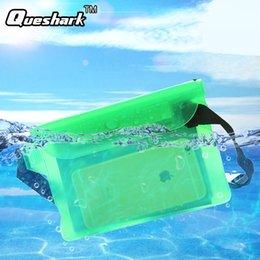 $enCountryForm.capitalKeyWord Australia - Waterproof Dry Waist Pack Outdoors Swimming Drifting Waterproof Pouch Dry Bag PVC Waist Phone Cover Storage Protective Bag #321678