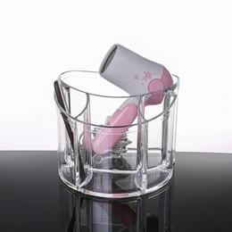 Box Jewelry Storage Organizer Black NZ - Clear Makeup Organizer Acrylic Storage Box Cosmetic Organizer Makeup Storage Case Cosmetics Holder Jewelry Box