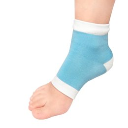 $enCountryForm.capitalKeyWord Australia - Wholesale- 1 Pair Footful Moisturising Gel Heel Socks Cracked Foot Dry Hard Skin Protector free shipping