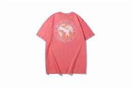 $enCountryForm.capitalKeyWord UK - Men Designer T Shirts Summer Luxury Tee Mens Tees Shirt Loose leopard Pattern Print Street Fation Wear Brand Tee Shirt Size M-2XL