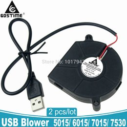 $enCountryForm.capitalKeyWord UK - usb fan 2Pieces Lot PC Computer Cooling Cooler DC Centrifugal Blower Fan USB 5V 6015S 60x60x15 60 75mm 7515 7530 50mm 5015