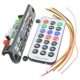 $enCountryForm.capitalKeyWord Australia - Hot!! Wireless Bluetooth 12V MP3 WMA Decoder Board Audio Module USB TF Radio For Car